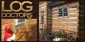 Log Home Staining  Log Home Staining